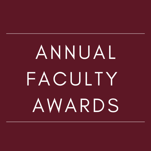 Faculty Annual Awards